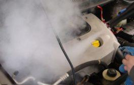Gőzös autómosás földünk védelméért
