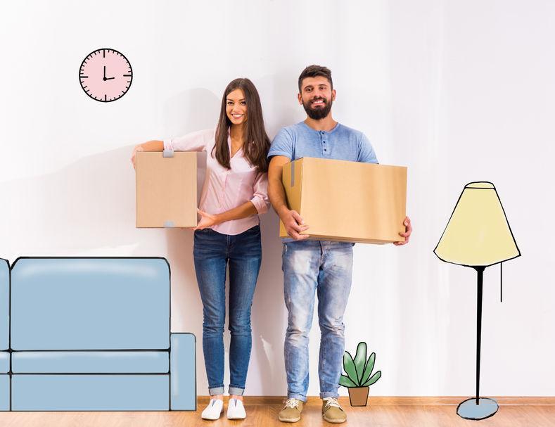 Átvállaljuk a költözés terhes feladatait!