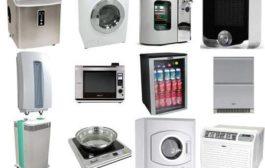 A háztartási gépek komponensei