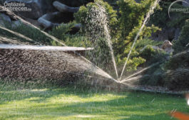 Víztakarékos locsolás öntözőrendszerrel