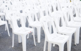 A rendezvények bútorai