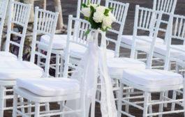 Az esküvők és a székek