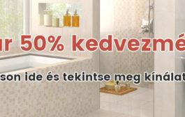 Elismert fürdőszoba szalon Budapesten