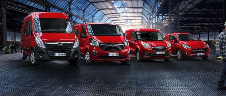 Opel haszongépjárművekre van szüksége?