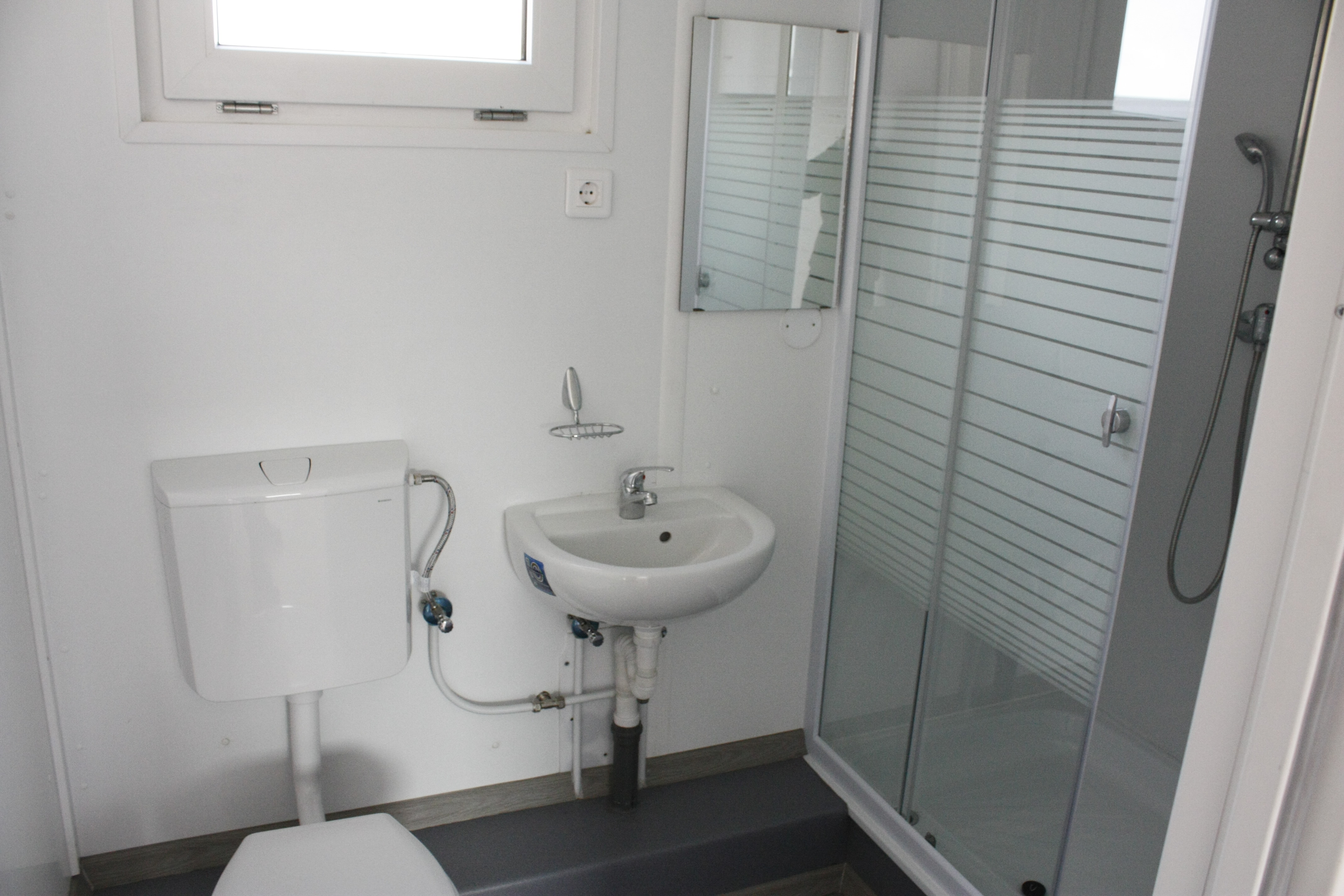 Fürdőszoba konténer