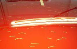 A jégeső negatív hatásai autónkra