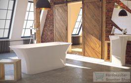 Különleges sarokkáddal teheti még gazdagabbá fürdőszobáját!