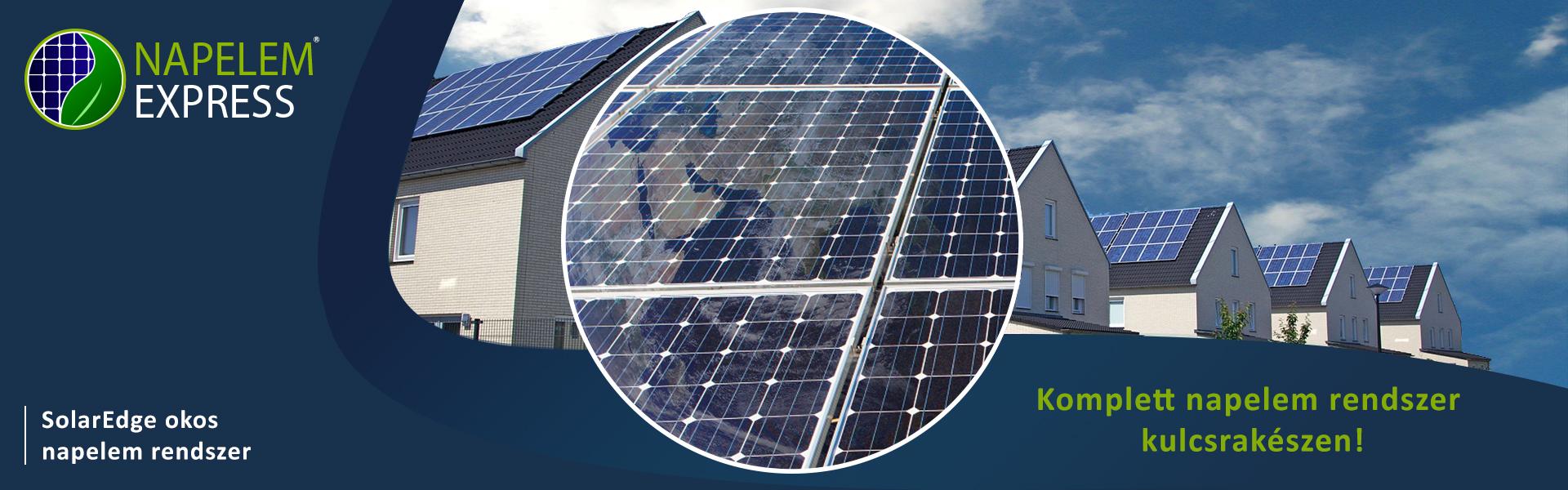 Gazdaságos napelem rendszer családi házra