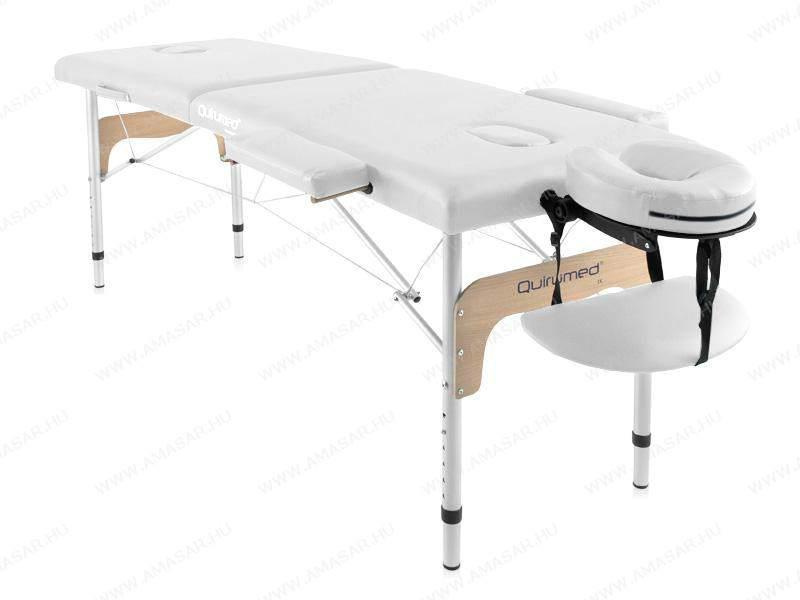 A masszázs bútorai