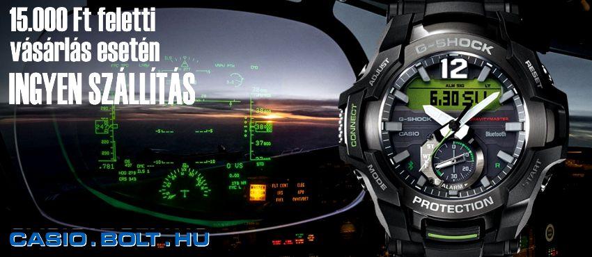 Analóg és digitális Casio karórák online!