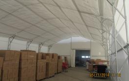 Tartószerkezetes sátrak a felhasználási területnek megfelelően